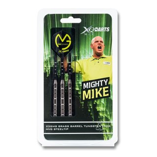 XQ Max Michael van Gerwen Mighty Mike Steeldart im Tungsten Look 23 g