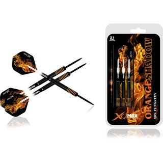 XQ MAX Orange Shadow 80 % Tungsten Steel Dart