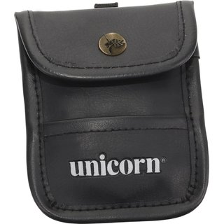 Unicorn Accessory Pouch black Leather
