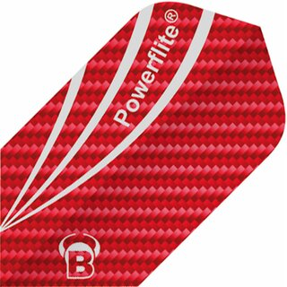 BULLS Powerflite Flights Slim carbon rot