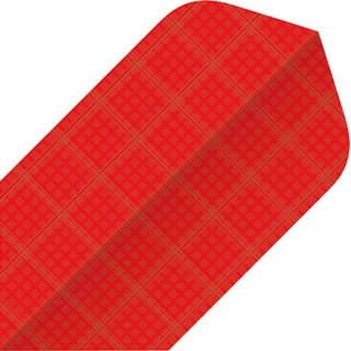 BULLS Nylon Flights Slim Shape Slim red