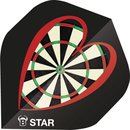 BULLS 5-Star Flights A-Std. A-Standard love dart