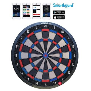 Unicorn Smartboard Soft Tip, Bluetooth Dartboard, App kompatible elektronische Dartscheibe