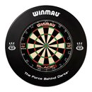 Winmau Dartboard Surround / Dart Catchring, schwarz