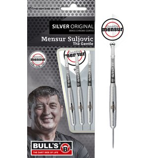BULLS Mensur Suljovic Team Player silver Steel Dart